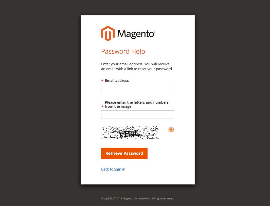 Change Magento Admin Password